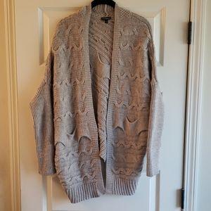 Express chunky knit sweater sz L